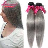 直毛様式の製品2toneカラーOmbreのマレーシアの毛