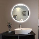 Espelho da bacia de lavagem com o espelho do aço inoxidável do espelho da bacia do vidro Tempered da espessura do espelho 4mm do aço inoxidável do gabinete