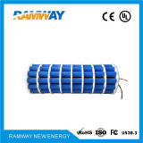 la batteria di litio 28.8V imballa 8er34615-25 per le apparecchiature sismiche del rivelatore