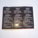 Drucken-Kennsatz für Reinigungs-Maschine