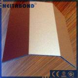 Panneaux sandwich en polyester en aluminium pour revêtement extérieur