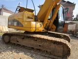 Buen excavador usado de la correa eslabonada de las condiciones de trabajo (Cat320c)