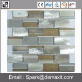 De in het groot Tegel van het Mozaïek van het Aluminium van de Binnenhuisarchitectuur Zelfklevende Gouden