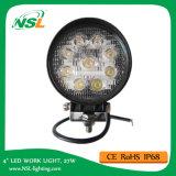 indicatore luminoso luminoso del lavoro di 27W LED fuori dalla strada Truck Ce, RoHS. indicatore luminoso chiaro bianco puro del punto di Epsitar LED LED dell'indicatore luminoso di azionamento 6500k