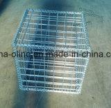 土木工学で使用される電流を通されたGabionの金網