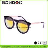 Óculos de sol de plástico redondos de venda a quente