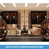 Sofá de la esquina rentable de la tela del hotel de apartamento (SY-BS80)