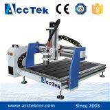 Fresadora del pequeño de la manía de Acctek del CNC Router/4-Axis ranurador de madera del CNC/ruta tamaño pequeño del CNC