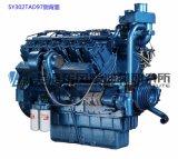 12 cilindro, 720kw, motor diesel para el conjunto de generador, motor chino de Shangai Dongfeng