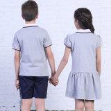 Modèle de chemises et de jupe de polo pour l'usine moyenne d'uniforme scolaire