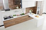 Populäre Mähdrescher-Furnier-Blattund Lack-moderne Möbel-Küche-Schränke