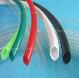 Chemise en plastique moulée personnalisée de pipe en caoutchouc de silicones