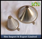 Filtro perfurado da forma de cone do aço inoxidável
