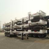 De Semi Aanhangwagen van het Skelet van de Carrier van de Container van drie Assen 40FT
