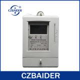 De eenfasige Elektronische Vooraf betaalde Meter van het Wattuur (DDSY2111)