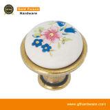 Maniglia di ceramica in lega di zinco di tiro del Governo della mobilia delle maniglie del perno (C311 CP-F)