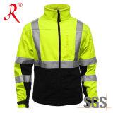Отражательная куртка Softshell безопасности (QF-513)