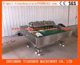 Réalisateur continu de vide/machine de emballage sous vide de roulement pour la nourriture, produits chimiques, médecine Dzl-1100