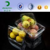 Оптовый дешевый волдырь упаковывая ясный Clamshell пластмасового контейнера для свежих фруктов