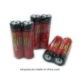 Winpow電池R6p電池、4パック、1.5ボルト、AA