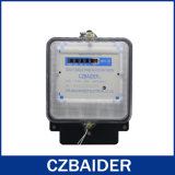 Однофазный двухпроводной электронный активно метр стоимости энергии ваттчаса (DDS2111)