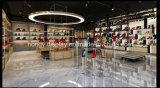 Modèle de système de chaussure d'étagère de crémaillère d'étalage de magasin de chaussures de femme