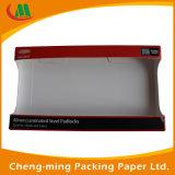 Rectángulo de papel cosmético del conglomerado del lustre plegable cobarde de encargo del labio