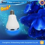 Haut-parleur de Bluetooth d'ampoule du prix bas LED télécommandé