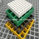 Отлитая в форму FRP решетка платформы решетки/GRP