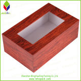 Printing di legno Style Paper Packaging Box con Window