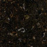黒いギャラクシー大理石カラーシーザーの石造りの水晶石