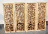 gravure et découpage de travail du bois de la commande numérique par ordinateur 3D faits à la machine en Chine