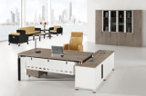 현대 L 모양 고품질 나무로 되는 사무실 책상