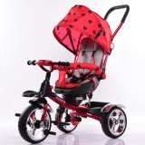Canopies와 Handle (OKM-675)를 가진 아이들과 Baby Foot Tricycle