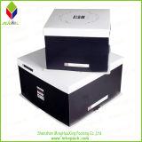Коробка торта твердого складного картона подарка упаковывая