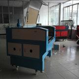 Découpage à grande vitesse de laser de CO2 et machine de gravure pour la garniture en cuir de /Mouse de tissu