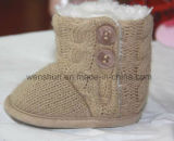 Ботинки шерстей для младенцев