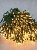 Incandenscent 당 훈장을%s 소형 끈 빛 및 고품질 성과 (IN100)를 가진 크리스마스 나무