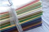 Tela teñida poliester del algodón para la camisa