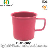 405ml BPA geben Bambusfaser-Cup mit Griff frei (HDP-2051)