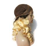 Парик прямых Silk верхних женщин человеческих волос верхнего сегмента самый лучший продавая еврейский