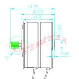 Реверзибельный одновременный мотор для электрических силовых приводов (SM-80)