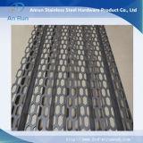 De plaque métallique perforé ondulé en aluminium avec l'onde