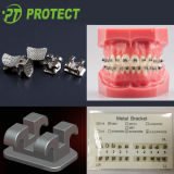 Edgewise Orthodontic Bracket für Teeth mit ISO DES CER-FDA