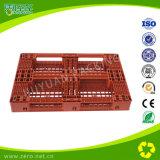 Material de HDPE Paletes / Bandejas de plástico para rack
