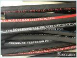 Boyau hydraulique flexible résistant de pétrole (SAE R1at)