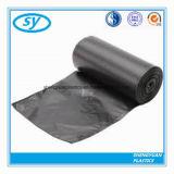 Bolso de basura del LDPE del negro del precio de fabricante