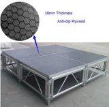 알루미늄 LED 움직일 수 있는 단계 중국은 휴대용 단계를 조립한다