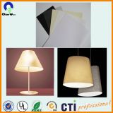 PVC blanc de film rigide pour Abat Lighting Film