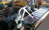 Aufbau-Baumaterial-Block, der Maschine bildet